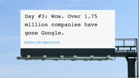 google apps billboard