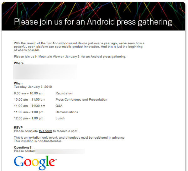 android-press-invite