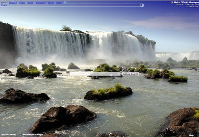 how to add a custom backround to google chome
