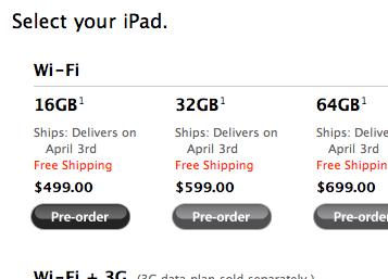 iPad Pre Order